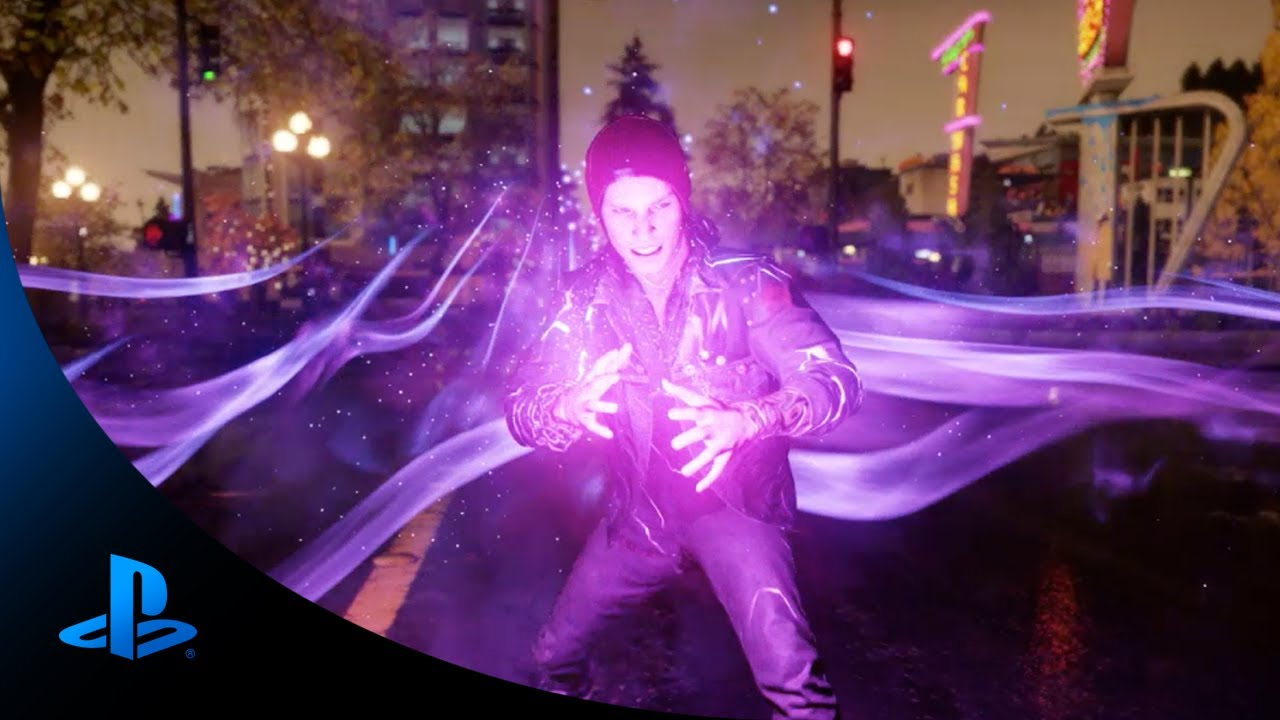 Default Iphone 7 Wallpaper Infamous Second Son Official Neon Reveal Youtube