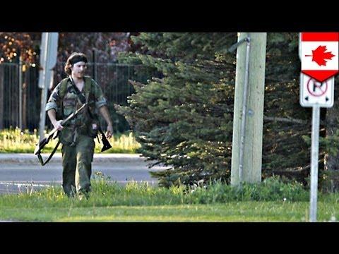Moncton shooting: Rambo cop killer Justin Bourque arrested after massive manhunt