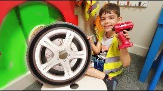 Muffin Man * Car Wheel Fell Off * Nursery Rhymes* Power Wheels