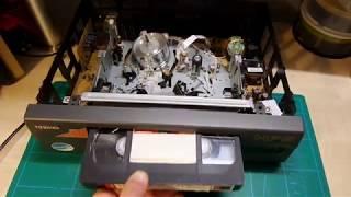 Toshiba VCP-HF5CZ. VHS Hi-Fi Stereo.