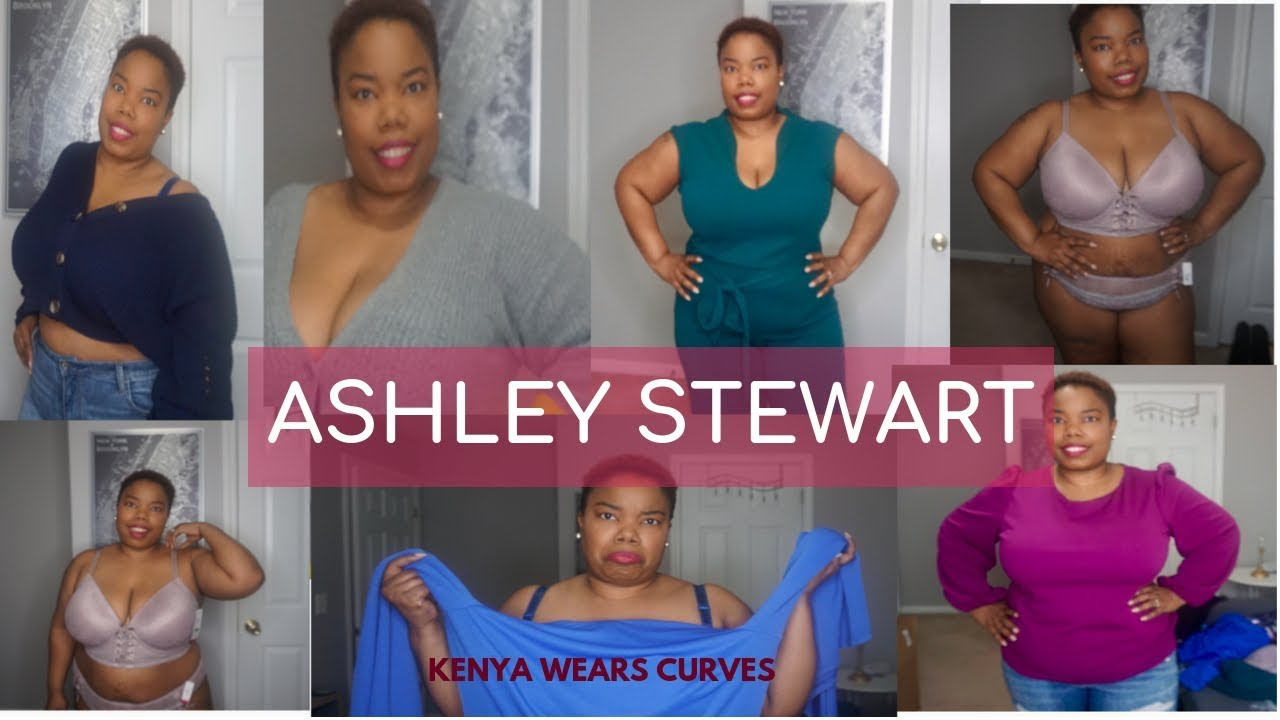 84fcff1ed12bd Ashley Stewart Plus Size Haul & Try-On | Another Jumpsuit Fail!! | 2019