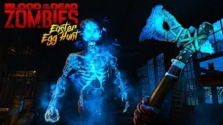 """BLOOD OF THE DEAD"" MAIN EASTER EGG STEPS LIVE!! *BOSS FIGHT SOON* (Black Ops 4 Zombies!)"