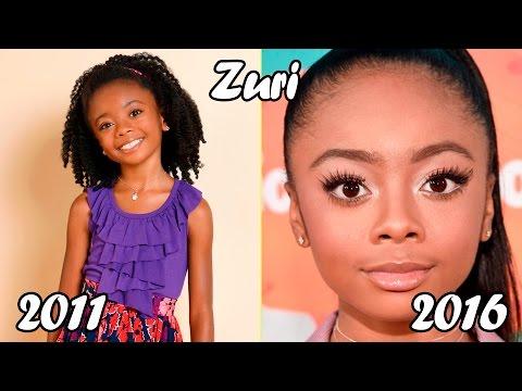 Estrellas de Disney Antes y Después Jessie 2016