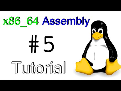 x86_64 Linux Assembly #5 - Math Operations and the Stack