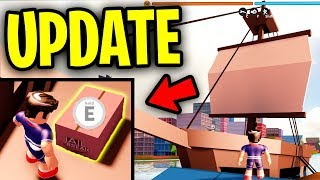 [FULL GUIDE] NEW SHIP EVENT! NEW SECRET ITEM! NEW AIRPORT & POLICE STATION   Roblox Jailbreak Update