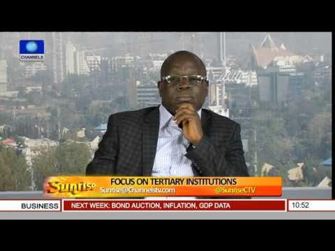Sunrise: Analysts Focus On Tertiary Institutions Pt 4