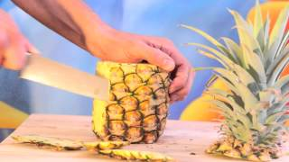 How to eat PINEAPPLE