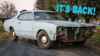 REBUILDING MY FIRST CAR!