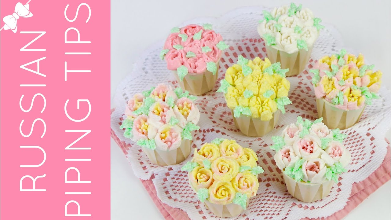 How To Decorate A Cake With Flowers Of Icing