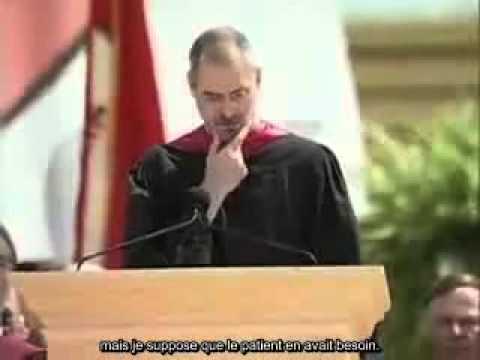 Steve Jobs Stanford Commencement Speech, 2005 (sous-titres Français)