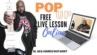Pop up Live Lesson