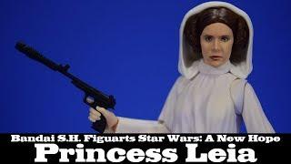 S.H. Figuarts Princess Leia Star Wars EPIV A New Hope Bandai Spirits Action Figure Review