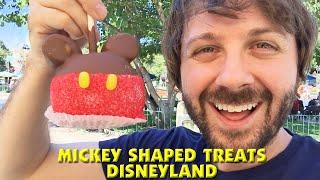 DISNEYLAND MICKEY MOUSE SHAPED TREATS