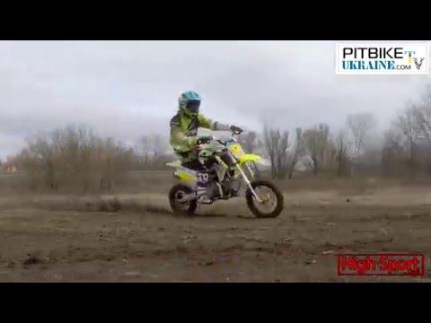 LYAVIK. PitBike Ukraine - FLAT TRACK. Weekend