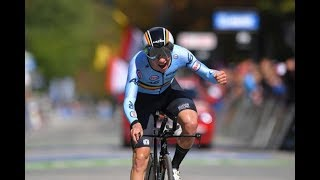 Remco Evenepoels crazy world championship junior time trial