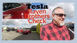 Interessante Entdeckung beim Raven Brothers Tesla Check