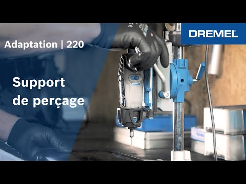 adaptation dremel colonne de per age dremel 220 youtube