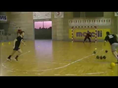 Pretemporada de handball día 11(Resistencia anaeróbica láctica  en cancha)