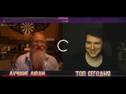 Дед Тихон и блогер Алеша стримит - Гардон чата рулетка