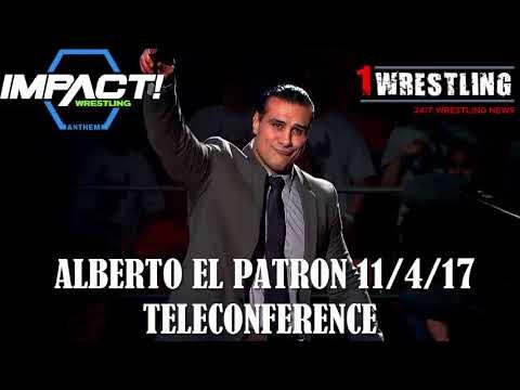 ALBERTO EL PATRON 11/4/17 TELECONFERENCE