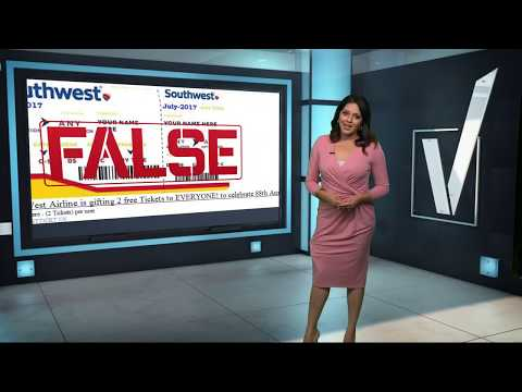 VERIFY: Is Southwest Giving Away Free Tickets?