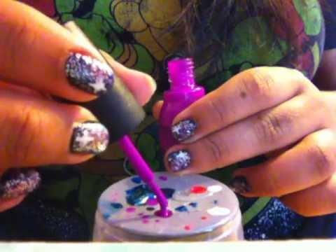 Galaxy Nails (my method)