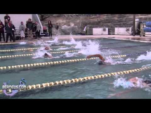 Time Trial Swimmers From Bermuda & Mount Allison University Feb 25th 2011