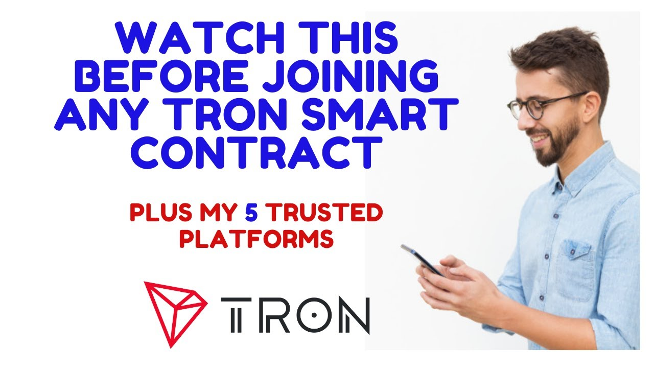 WATCH THIS BEFORE JOINING ANY TRON SMART CONTRACT