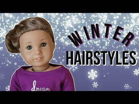 DOLL HOLIDAY HAIRSTYLES TUTORIAL