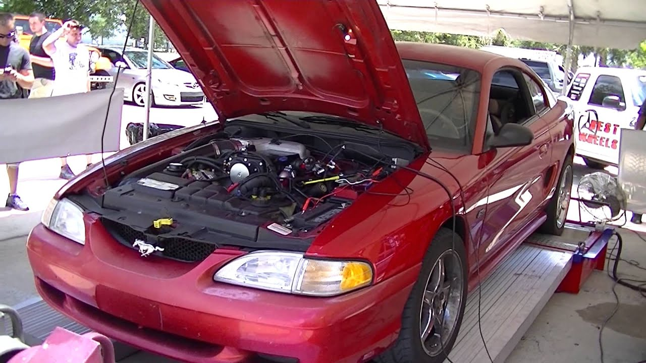 kenne bell 2 8 mammoth supercharged mustang on the dyno youtube. Black Bedroom Furniture Sets. Home Design Ideas
