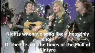 Paul McCartney & Wings - Mull Of Kintyre