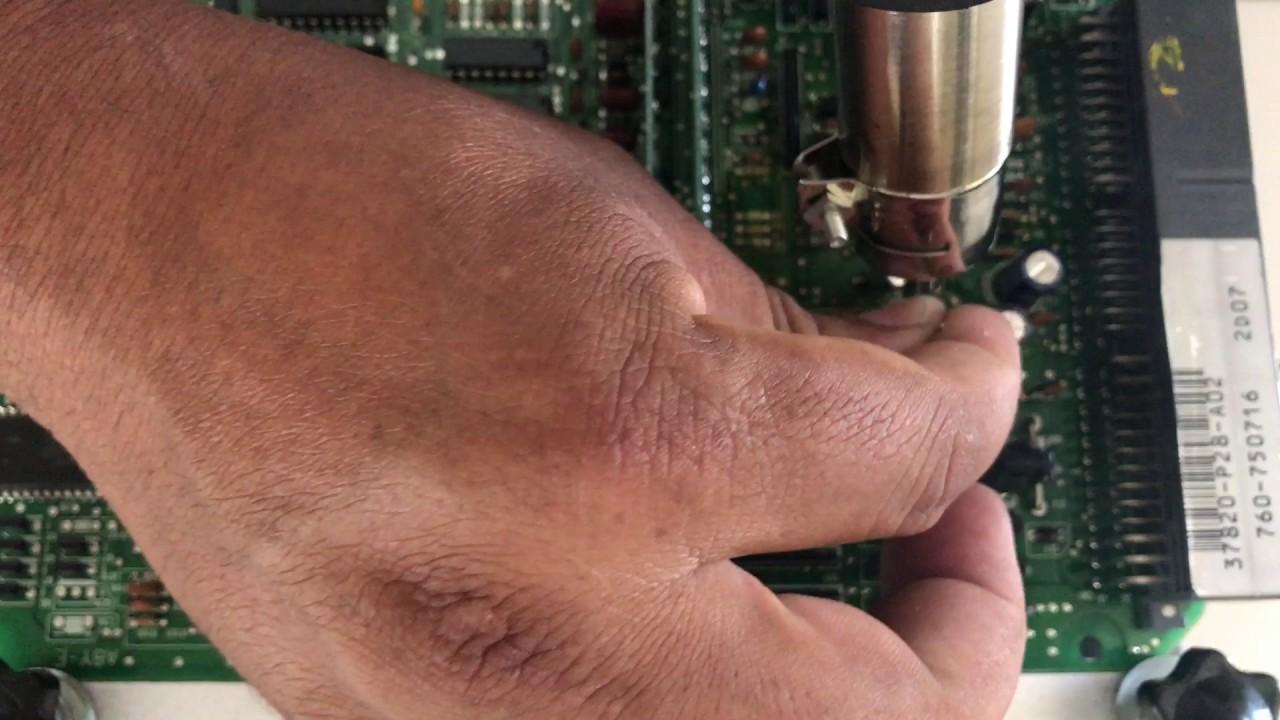 medium resolution of honda ecu obd1 transistor q31 or q28 p13 ecu obd1 fix