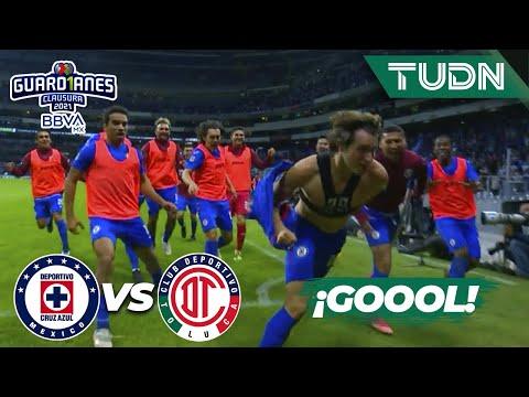 ¡SE ACABÓ! ¡GOL DE SANTI! | Cruz Azul 3-1 Toluca | Torneo Guard1anes 2021 BBVA MX  4tos | TUDN