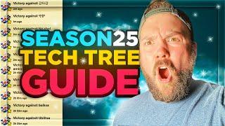 THE Season 25 Tech Tree Guide! 🥇// Boom Beach Warships
