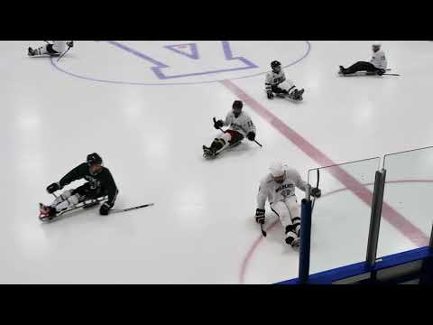 The Fourth Annual Pike School and Northeast Passage Sled Hockey 4k