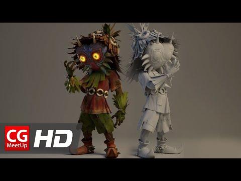 "CGI & VFX Breakdown HD ""Making of Majora's Mask - Terrible Fate Short Film"" by EmberLab | CGMeetup"
