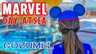 Disney Cruise Marvel Day at Sea Tangled The Musical Animators Palate