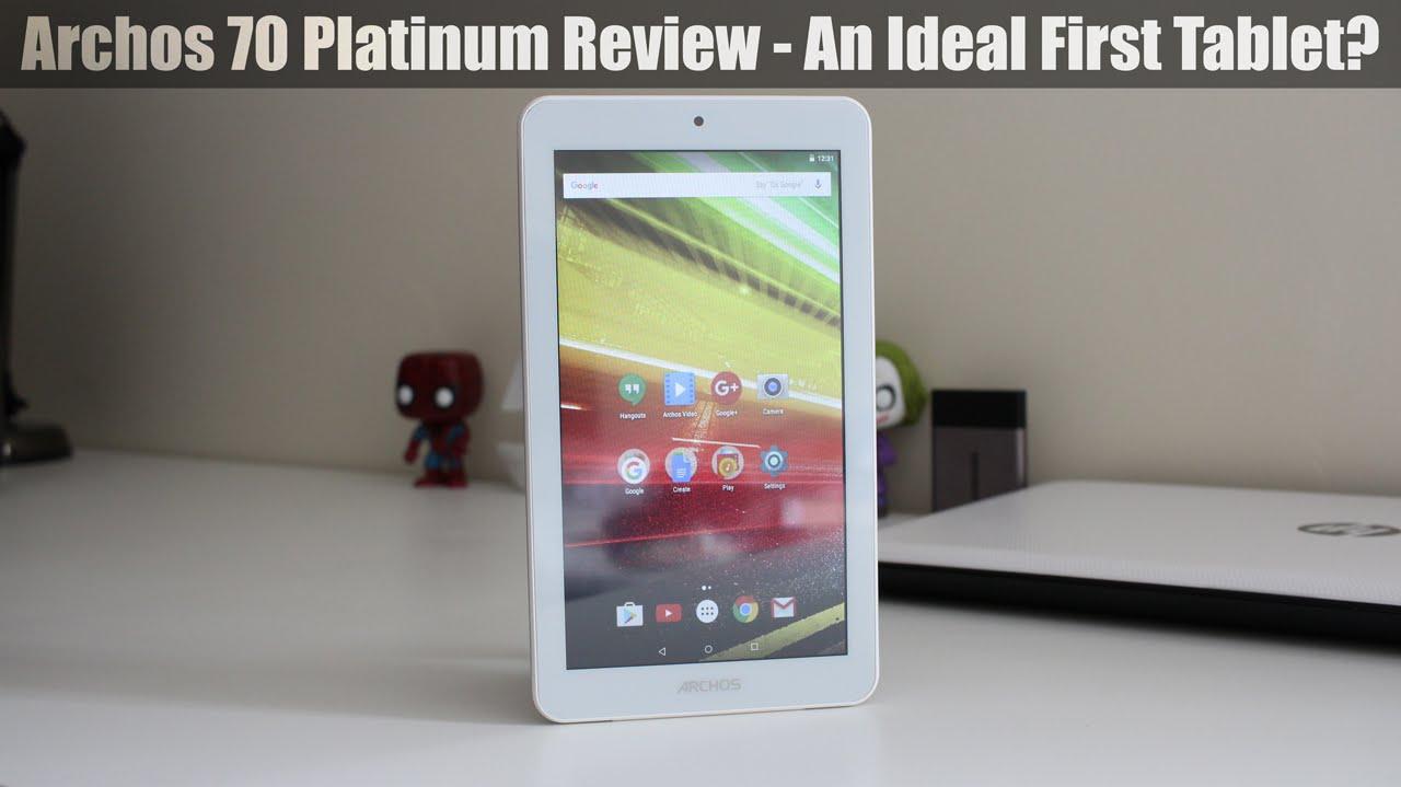 archos 70 platinum review good first tablet youtube. Black Bedroom Furniture Sets. Home Design Ideas