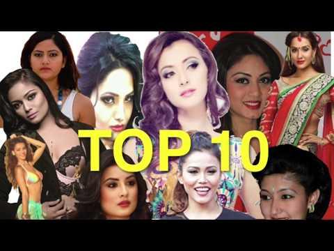 Top 10 Women in Nepal 2016   Priyanka   Himani   Indira Joshi   Namrata   Shristi