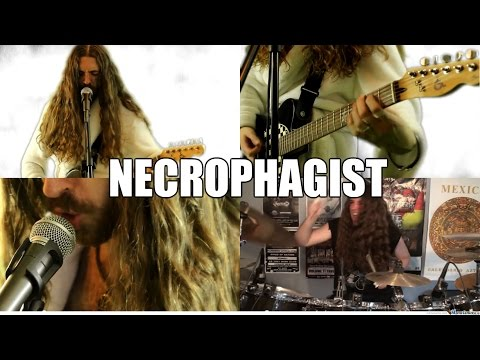 One-Man Necrophagist cover