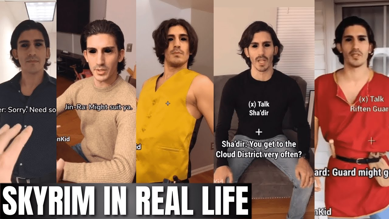 Skyrim in Real Life (All Episodes) by JinnKid thumbnail