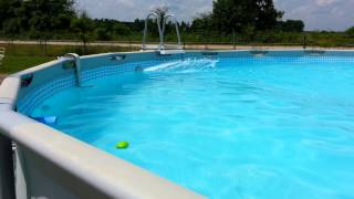 My intex swimming pool con tribal sound