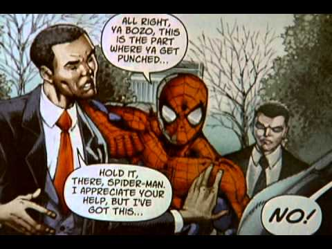 Spider man obama comic youtube spider man obama comic sciox Image collections