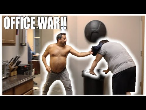 OFFICE WAR GONE NASTY (PUKE WARNING) EPISODE 3