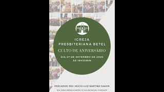 Aniversario da Igreja Presbiteriana Betel - 26 anos servindo ao Reino de Deus.