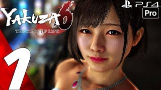 YAKUZA 6 - Gameplay Walkthrough Part 1 - Prologue (Full Game) PS4 PRO