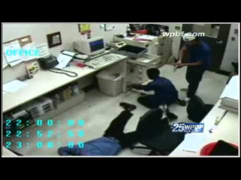 Walgreens Armed Robbery Caught On Camera