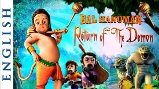 Bal Hanuman : Return Of The Demon (English) - Popular Cartoon Movie for Kids - HD