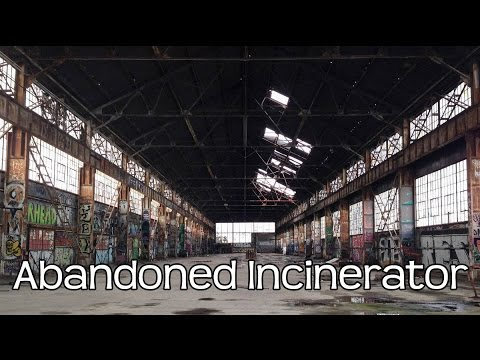 Abandoned Incinerator New Jersey Industrial Building Warehouse