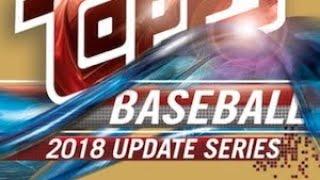 11/02/18 - eBay - 9 PM CDT - 2018 Topps Update Baseball Jumbo 1/2 Case Break #2